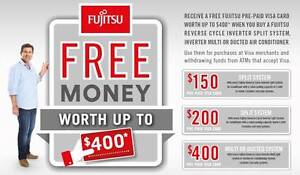 $595 AFTER C/B NEW Fujitsu ASTG09KMCA 2.5KW Split Air Conditioner Caboolture Area Preview