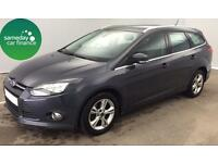 £161.47 PER MONTH GREY 2013 FORD FOCUS 1.6 ZETEC ESTATE DIESEL MANUAL