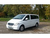 CLEAN Mercedes Vito 9 seater Minibus CDI 111 LONG