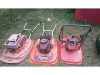 Joblot of hover mowers lawnmowers all did run