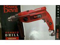 Power devil drill