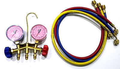 JB AIR CONDITIONING REFRIGERATION MANIFOLD GAUGE SET R410A W
