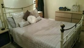 Vintage standard size double bed