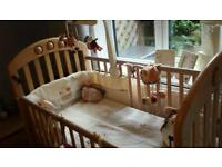 Cot and Nursery Set