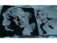 2 Marilyn Monroe Cushion covers
