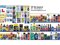 Car Care and Maintenance Accessories for Corner Shops and Convenience/ Grocery stores