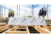 Egger Chipboard Flooring 2400mm x 600mm x 22mm Peel Clean Xtra