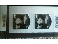 12 assortment of Bowie stamps