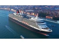 Travel Buddy wanted for Cunard Queen Elizabeth Q1 Short Voyage