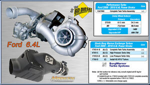 BD Diesel Twin Turbo Kit 2008-2010 Ford F250 F350 Powerstroke