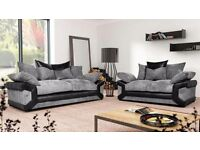 **Brand new Shelson sofas **with free footstool**