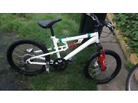 Kids bike with suspension and really good breaks