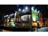 Historic riverside venue looking for restaurant host/hostess