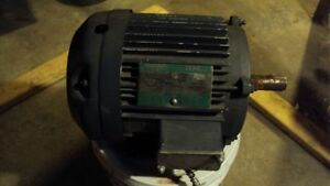 Lincoln 5 hp 3 phase electric motor