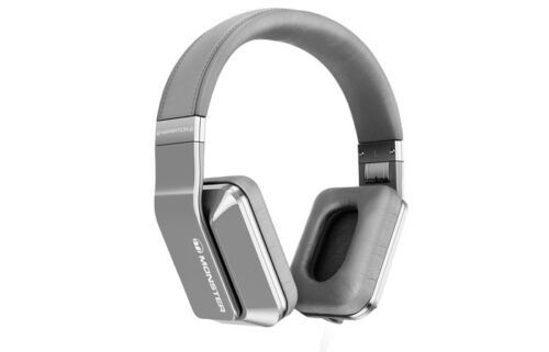 Monster Inspiration Active Noise Canceling Over-Ear Headphones Silver