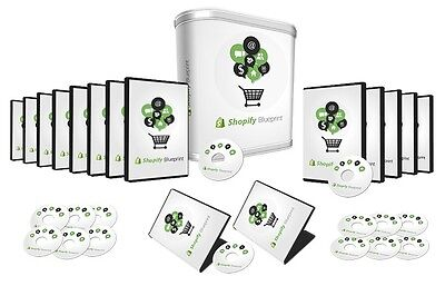 How To Build Your E Commerce Business With Shopify  Videos On 1 Cd