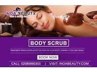 Body Scrub Treatment At Inoa Beauty Salon