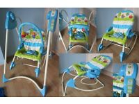 Fisher Price 3 in 1 Swing, Rocker and Infant seat