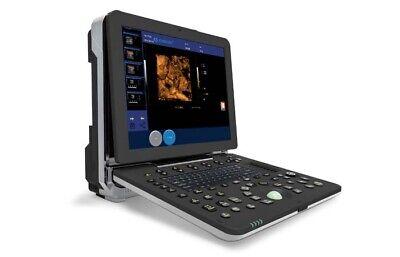 Portable Laptop Color Doppler Ultrasound 4d Scanner 15 Lcd Display 128 Elements