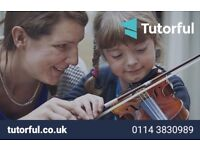 Piano, Guitar and Violin Lessons from Experienced Music Teachers: Bass, Drums, Saxophone, Singing