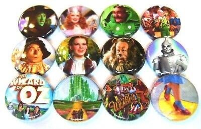 12 WIZARD OF OZ - ONE Inch Buttons 1