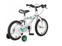 Used Kids 14 inch white Bike (used only once)