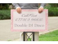 Double DJ Disco Wedding Discos