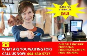 Free demo, Free installation and Free training POS system !!