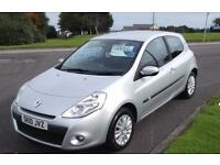 2010 10 RENAULT CLIO 1.1 I-MUSIC,ALLOYS,AIR CON,F.S.H,PAY AS YOU DRIVE FINANCE AVAILABLE ON THIS CAR