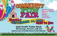Community Fun Fair - Vendors Wanted