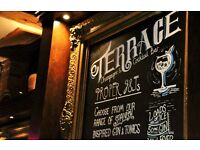 Bar Tenders required at The Terrace