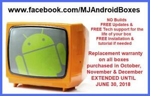 Fully Programmed Android TV Boxes LOCAL SELLER