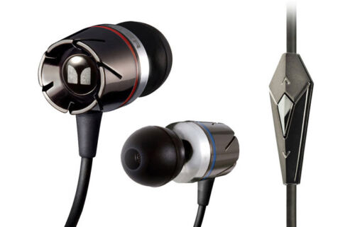 Monster Turbine Headphones with ControlTalk Black