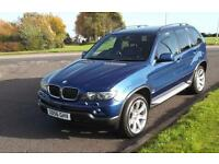 BMW X5 3.0D AUTO 2006 SPORT EDITION,FULL LEATHER,SAT NAV,CRUISE,COMMS PACK