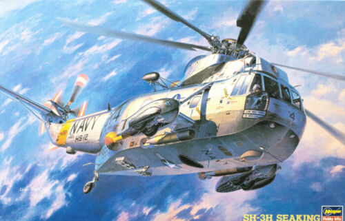 Hasegawa 1/48 SH3H Sea King Helicopter #7201 #07201 *sealed*