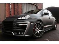 Porsche Cayenne conversion wide kit