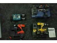 Cordless drills for sale 3 in total
