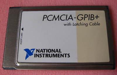 Ni Pcmcia-gpib National Instruments Interface Card 187039b-001 1 Each