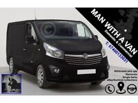 Man With A Van: Short/long distance. Removals. Retail pick ups. Single Items etc