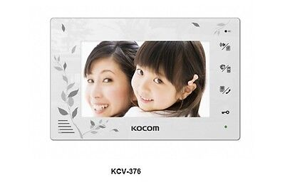 KOCOM KCV-376 Video Digital InterPhone + KC-C71 Door Camera Security Intercom