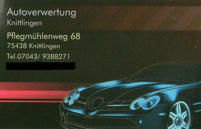 Autoverwertung-Knittlingen