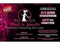 Maid to Sparkle™ Premium Cleaning Services