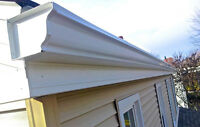 Spring SALE! Seamless Gutters & Eavestroughs! Book Now to Save~!