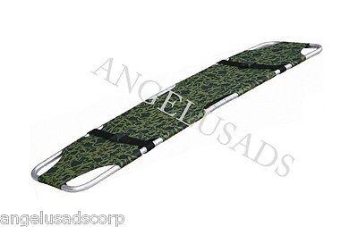 Medical Emergency Folding Portable Camouflage Stretcher Aluminum 191-mayday