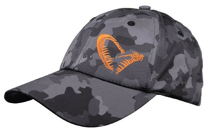 SAVAGE GEAR Black Savage Cap / Mütze Kappe Base Cap 50837