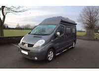 Renault Trafic two berth campervan with awning for sale