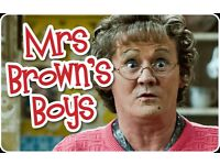 Mrs Browns Boys Tickets Saturday June 17th (sold out) 18.30