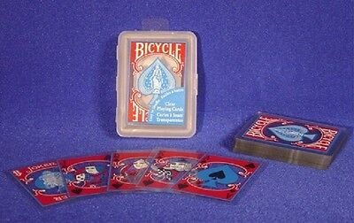 Bicycle Clear Plastic Poker Playing Cards New Bicycle Clear Plastic Poker