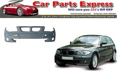 BMW 1 SERIES FRONT BUMPER PAINTED ANY COLOUR  2004 / 2007