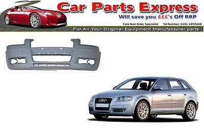 AUDI A3  FRONT BUMPER PAINTED ANY COLOUR 2004 / 2008